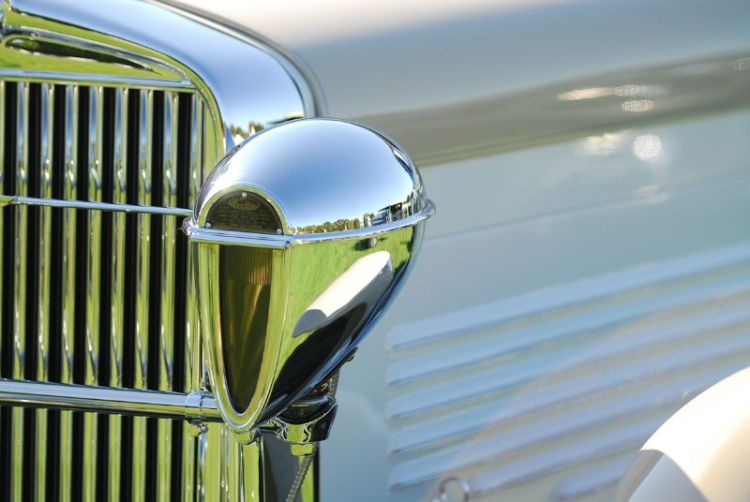 Details at Fairfield County Concours 2011