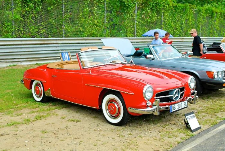 1962 Mercedes-Benz 190 SL, Jim Petty.