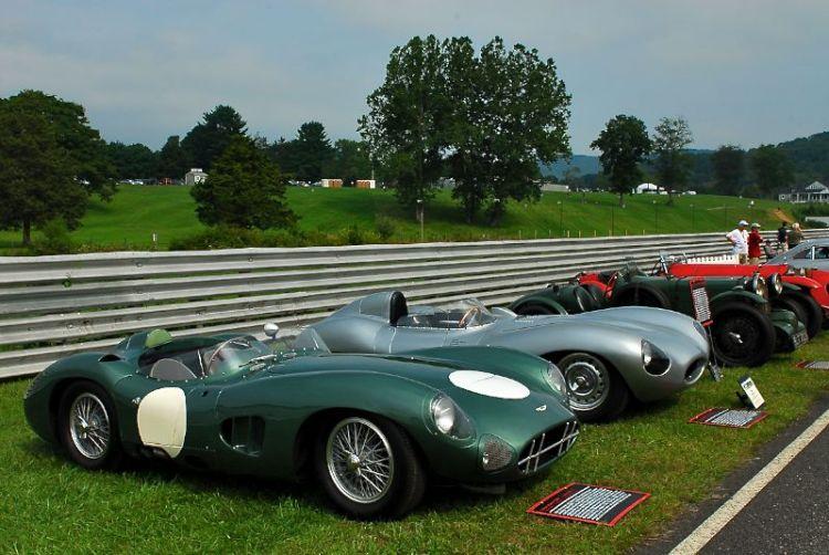 Simeone Auto Museum display.