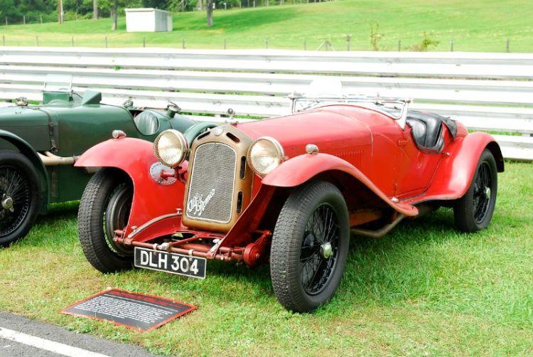 Alfa Romeo 8c 2300- Simeone Auto Museum.
