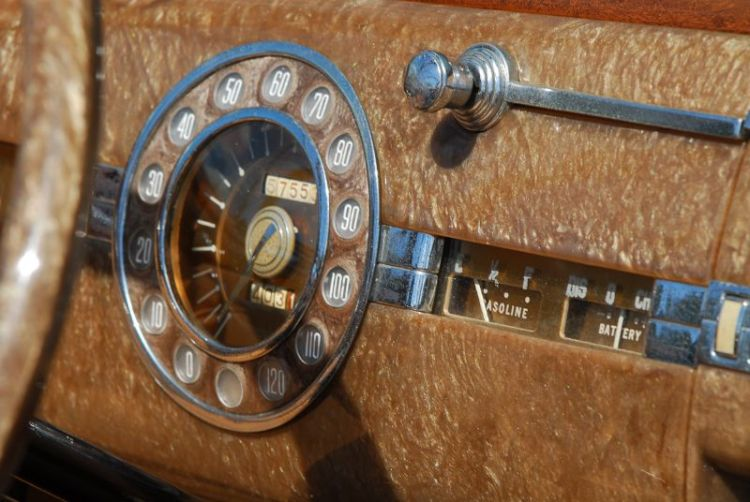 1941 Packard 2- Door Convertible 160 Super 8- L. Scott Barnard.