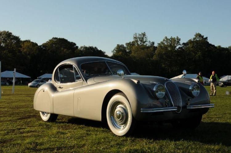 1954 Jaguar XK120 FHC- Todd Ressler.