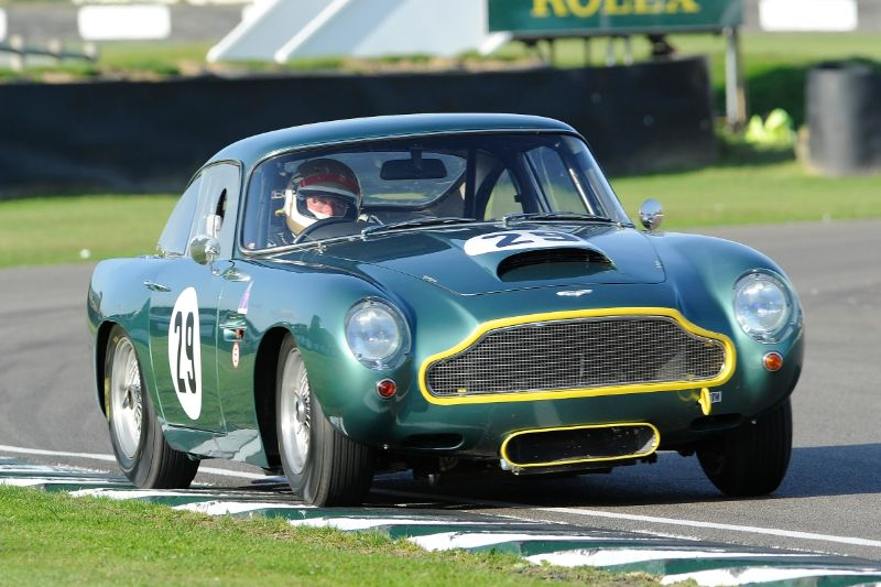1960 Aston Martin DB4GT - Vern Schuppan and Peter Thornton
