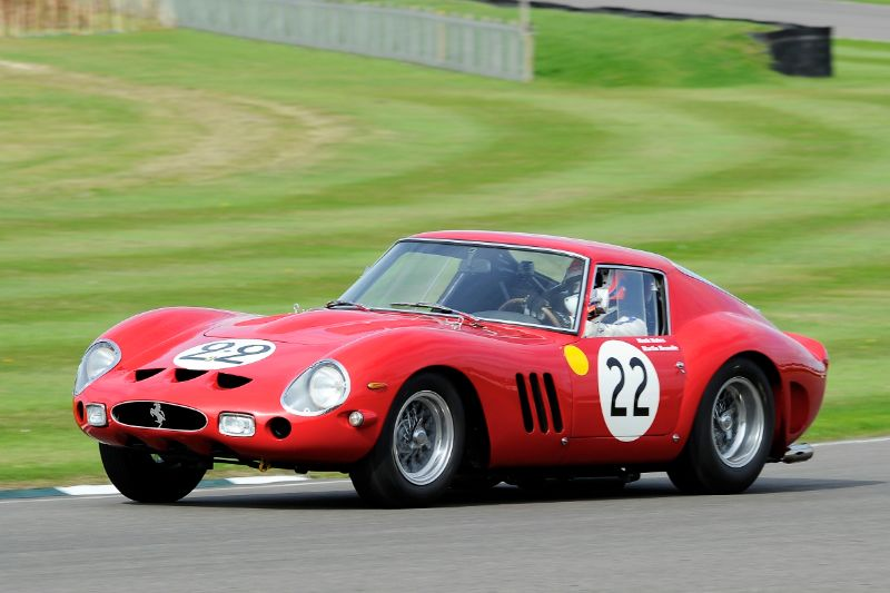 1962 Ferrari 250 GTO - Martin Brundle and Mark Hales