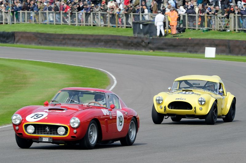1960 Ferrari 250 GT SWB/C - Killian Konig and Arturo Merzario and 1963 AC Cobra - Bill Bridges and Brian Redman