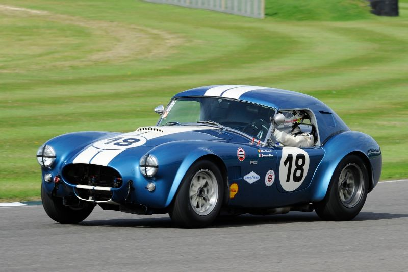 1963 AC Cobra - Emanuele Pirro and Marc Devis
