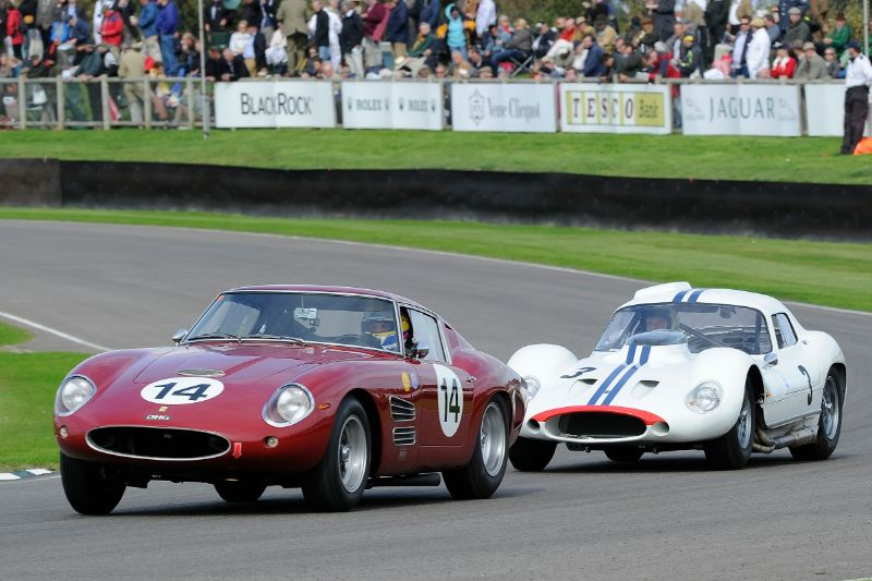 1960 Ferrari 250 GT Drogo - David Hart and Michael Bartels and 1962 Maserati Tipo 151 - Joe Colasacco and Derek Hill