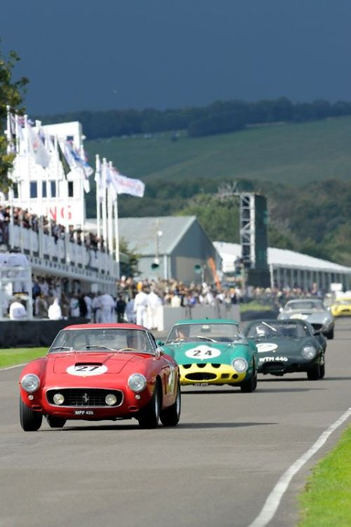 1960 Ferrari 250 GT SWB Comp - Jose Albequerque and Barrie Williams