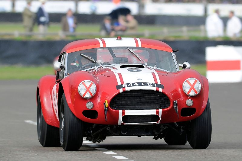 1963 AC Cobra Le Mans Coupe - Shaun Lynn and Desire Wilson