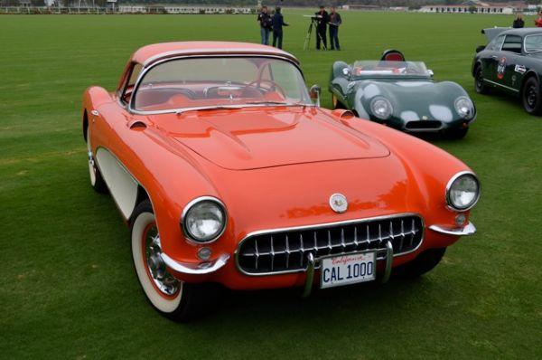 1957 Chevrolet Corvette -Mille Miglia North American Tribute 2011