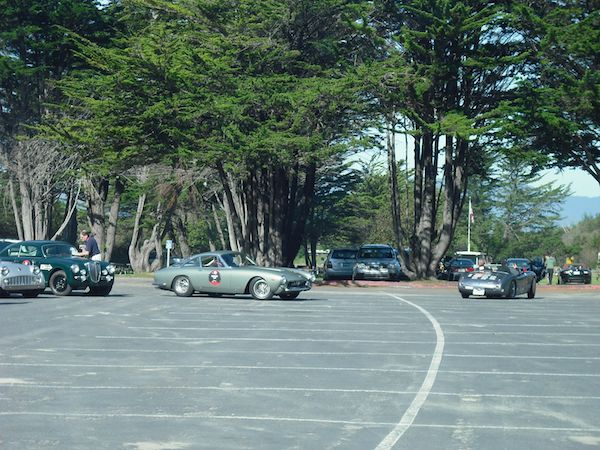 Stinson Beach Turnaround - Mille Miglia North American Tribute 2011