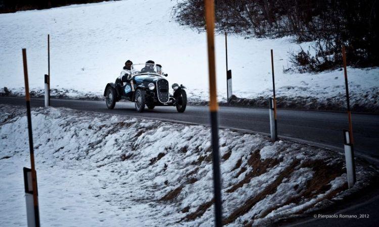 1935 Fiat 508 S Balilla Sport at Winter Marathon 2012
