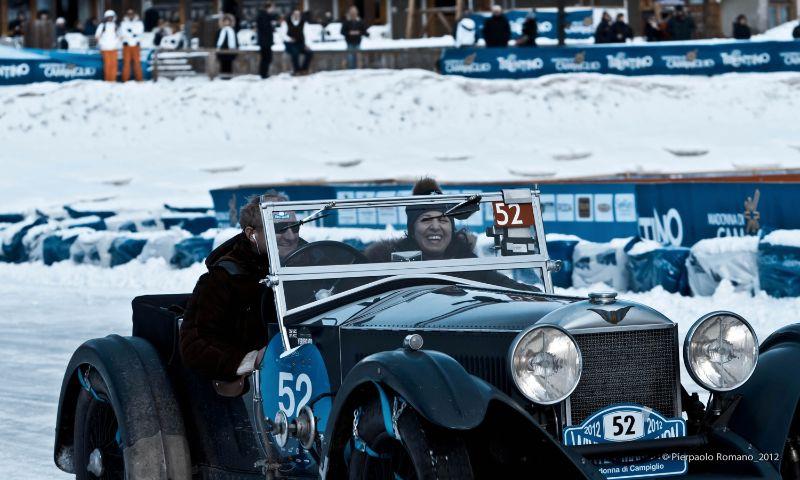 1936 Invicta S-Type on Winter Marathon 2012