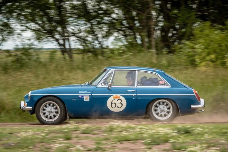 Car 63 John Crighton(AUS) / Marian Crighton(AUS)1972 - MGB GT, Rally of the Incas 2016