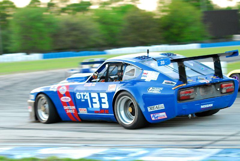 Terry Taylor Datsun 240Z.