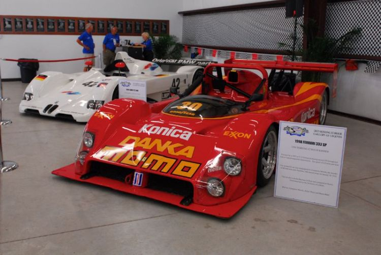 1998 FERRARI 333SP. Sebring Winner. Driven: Giampiero Moretti, Didier Theys and Mauro Baldi