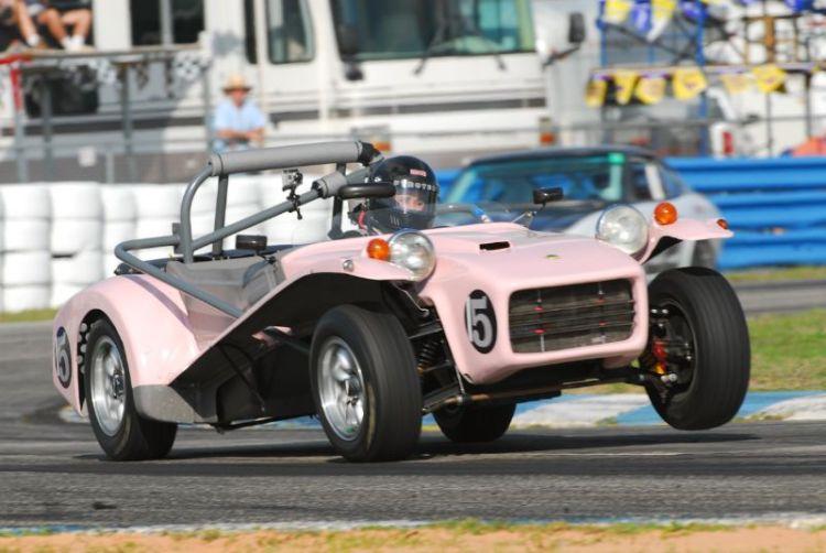 Dawn Fisher- 1972 Lotus Super 7.