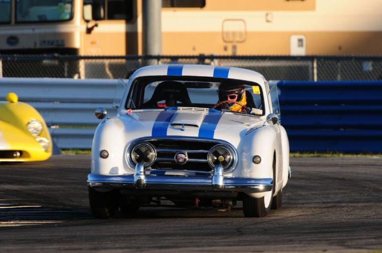 Leonard McCue- 1953 Nash-Healey LeMans Coupe.