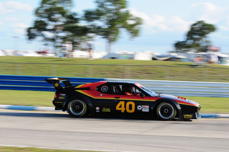 Marcus Glarner, BMW- M1.