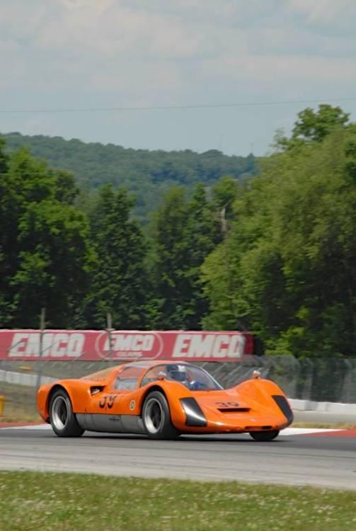John Higgins, 1966 Porsche 910.