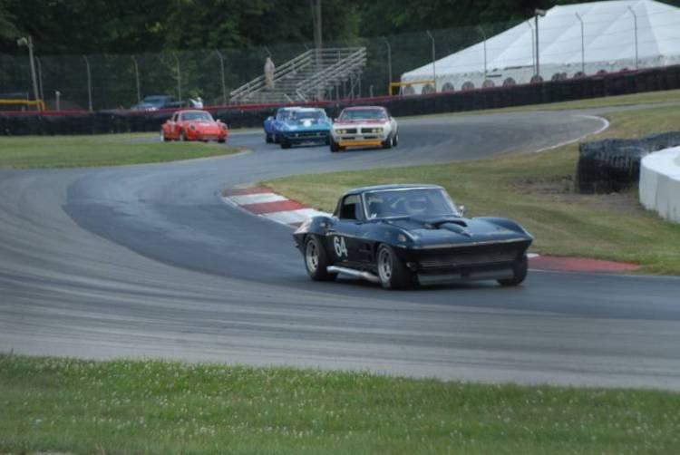 Jim Heck, 1964 Corvette.
