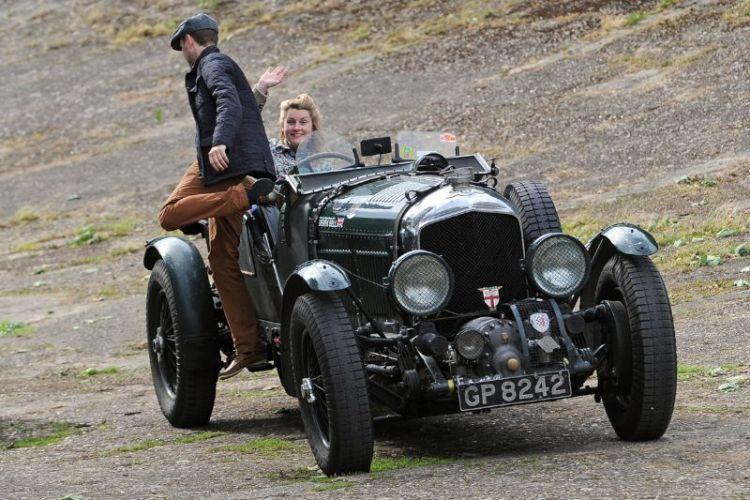 Brooklands Double Twelve Festival 2012, Blower Bentley