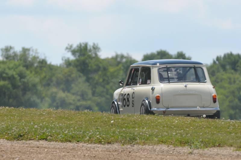 Andy Nelson, 1965 Austin Mini Cooper.
