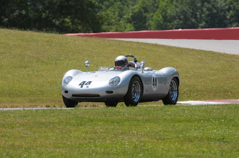 John Higins, 1959 Porsche 718RSK.