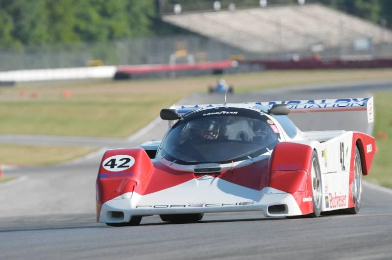 John Higgins- 1985 Porsche Fabcar.