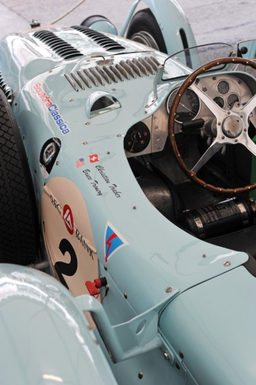 Class winning Talbot Lago - Le Mans Classic 2012