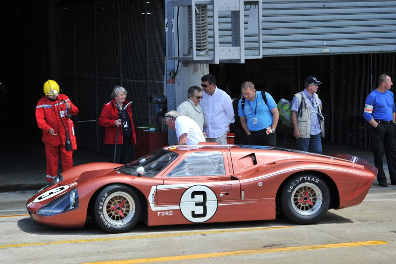 Ford GT40 MkIV - Le Mans Classic 2012