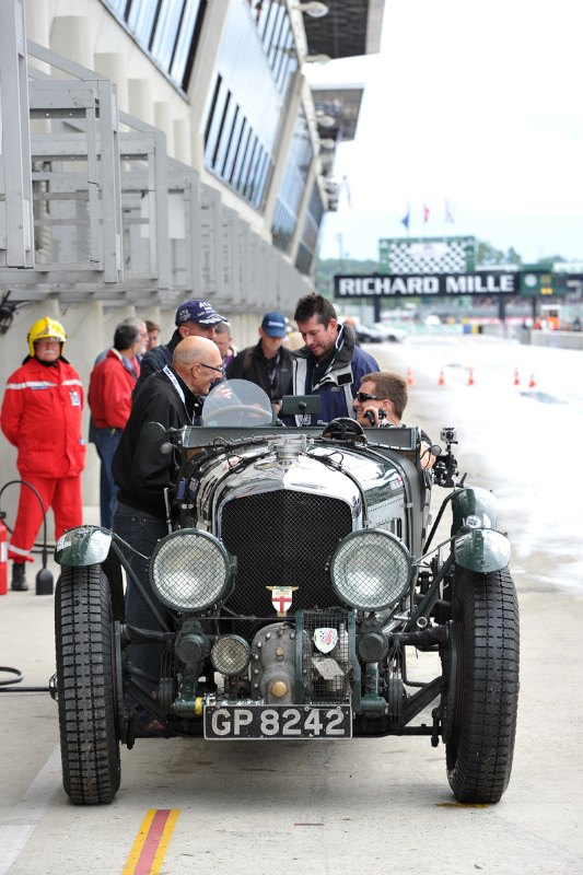 1929 Bentley 4.5-Litre Supercharged - Le Mans Classic 2012