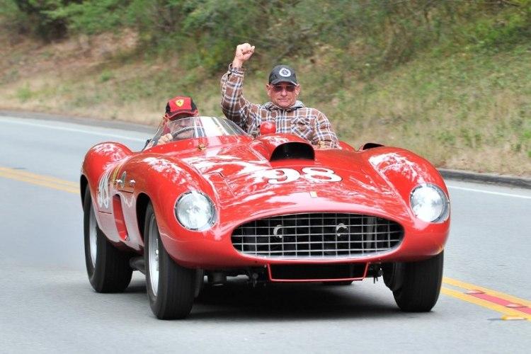 1956 Ferrari 410 Sport Scaglietti Spyder
