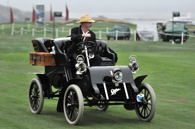 1903 Cadillac Model A Wilson Rear Entrance Tonneau