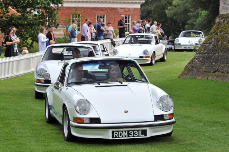 Porsche 911 RS at Classics at the Castle 2012