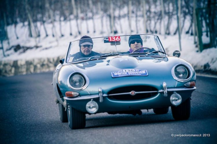 1965 Jaguar E-Type - Winter Marathon Rally 2013