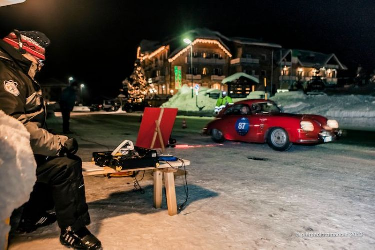 1952 Porsche 356 Coupe - Winter Marathon Rally 2013