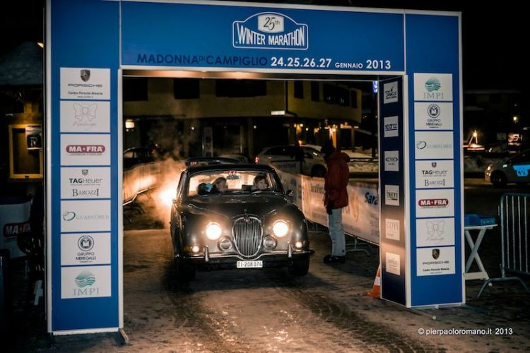 1966 Jaguar S-Type - Winter Marathon Rally 2013