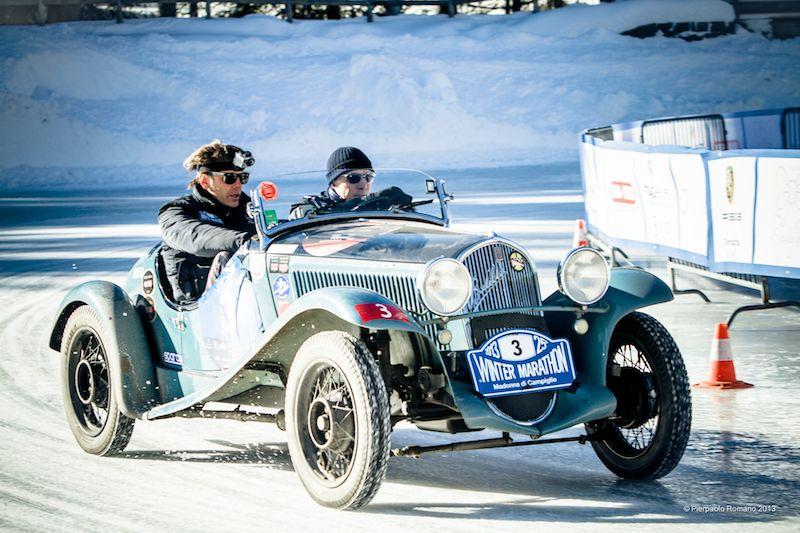 1932 Fiat Siata 508 S Balilla Sport - Winter Marathon Rally 2013