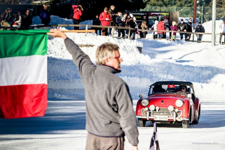 1958 Triumph TR3A - Winter Marathon Rally 2013