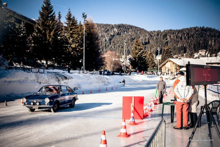 1965 Fiat 850 Coupe - Winter Marathon Rally 2013