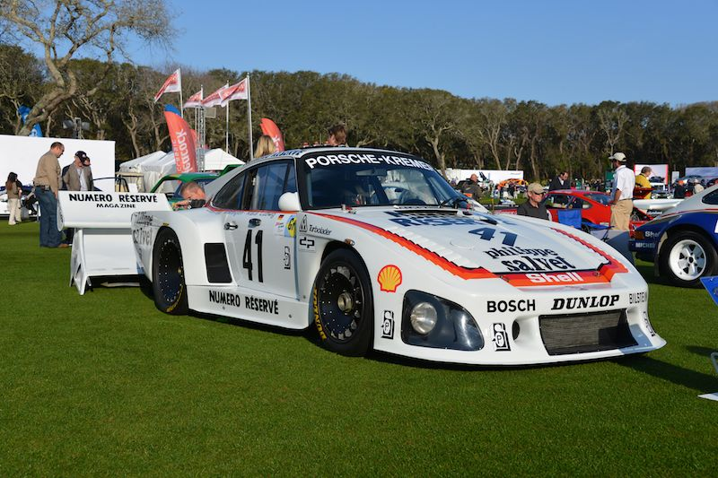 Porsche 935 K-3, winner of the 24 Hours of Le Mans in 1979