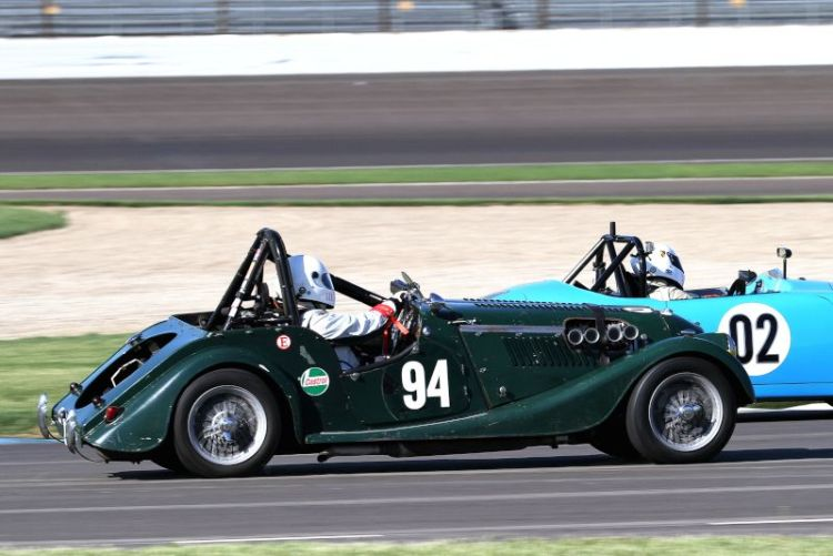 Piers Gormly, 61 Morgan Plus 4