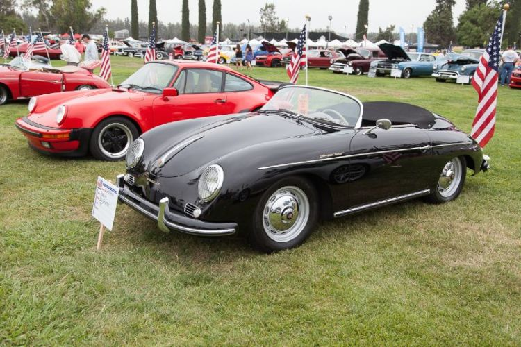 1957 Porsche 356 Speedster, owned by Ron Gould.
