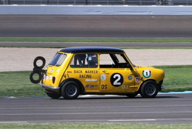 Robert Fairbanks has his 61 Austin Mini Cooper all wound up.