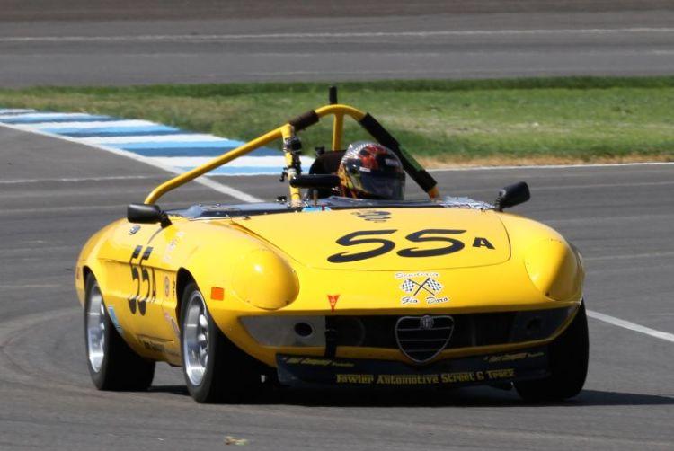 Dotti Bechtol, 72 Alfa Romeo Spider