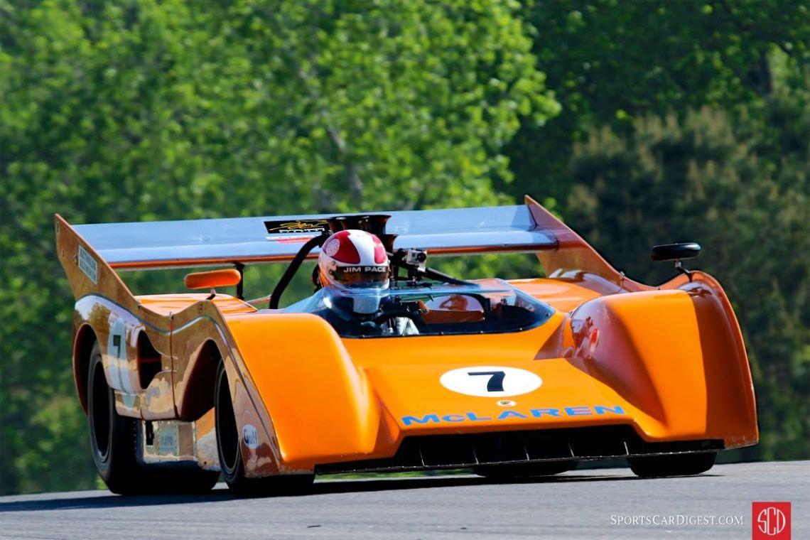 McLaren M8F at the Mitty (photo: David Ferguson)