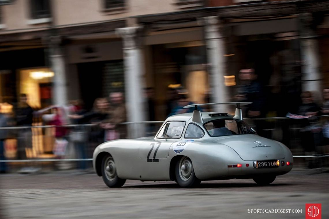 1952 Mercedes-Benz 300 SL W194 Coupe at the Mille Miglia (photo: Julien Mahiels)