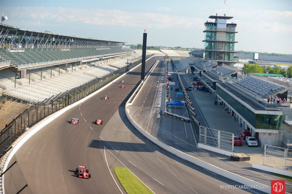 Grand view of the Indianapolis Motor Speedway (photo: Michael DiPleco)