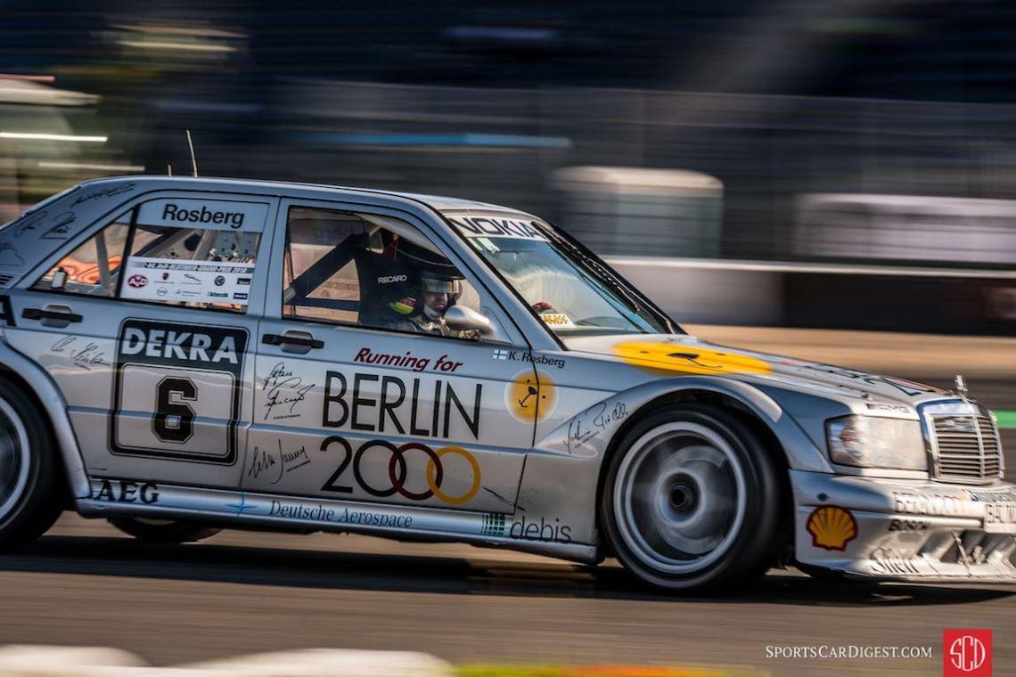 Mercedes-Benz DTM at the Oldtimer Grand Prix (photo: Julien Mahiels)